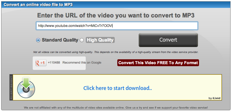 How to convert an MP3 file to a URL link - Quora